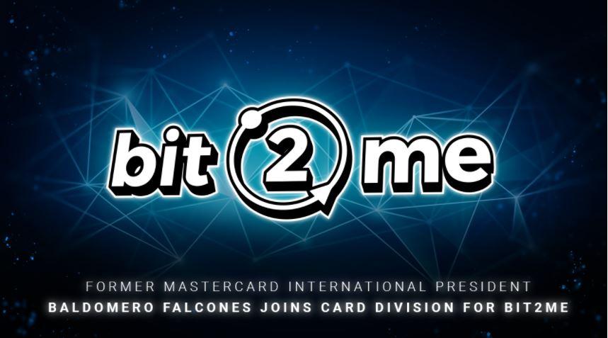 Bit2Me: Tidligere Mastercard international præsident Baldomero Falcones slutter sig til kortdeling