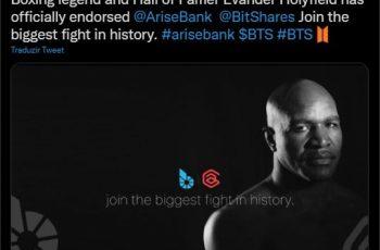 Boxer Evander Holyfield har godkendt kryptokurrency AriseBank